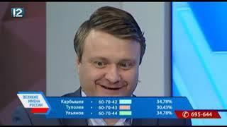 """Программа """"Великие имена России"""" (27.11.2018)"""