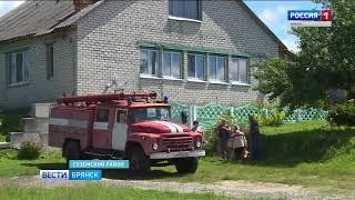 В Суземском селе появилась добровольная пожарная дружина