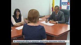 Глава республики Михаил Игнатьев провел прием граждан
