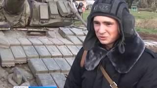 В Калининградской области прошли необычные танковые учения