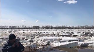 На реке Белая в Уфимском районе ликвидирован затор