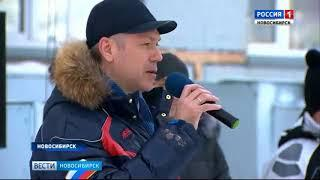 Новосибирский биатлонный комплекс отмечает юбилей большим спортивным праздником