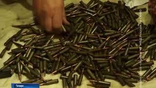 В доме у жителя Таганрога обнаружили незаконный склад оружия и боеприпасов