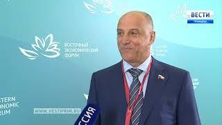 «Вести: Приморье. Интервью» с Сергеем Сопчуком