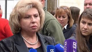 Аксенов и Москалькова встретились со студентами колледжа в Керчи