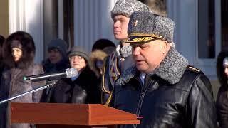 Институту войск нацгвардии вручили Боевое Знамя
