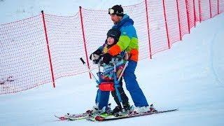 В Ханты-Мансийске на «Лыжах мечты» особенные дети приехали к победе