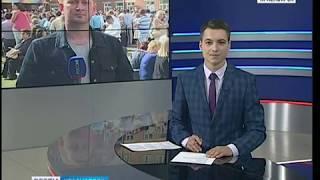 Прямое включение: в Красноярске проходят праздничные линейки, посвященные первому сентября