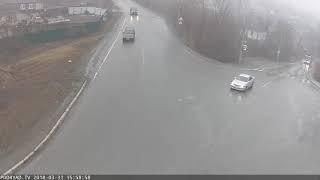 Авария 31.03.18 перекрёсток на дальней пограничной