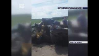 Два человека погибли в ДТП на трассе в Уярском районе