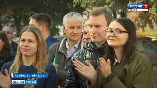 В Калуге на турбинном заводе открыли памятную плиту Василию Шукшину