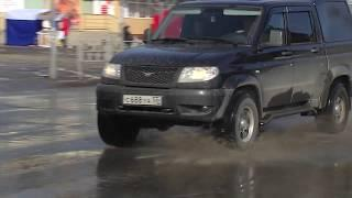 Омские дороги не прошли проверку зимой