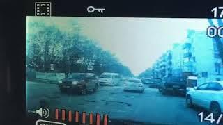 Небольшое ДТП спровоцировало большую пробку в Южно-Сахалинске