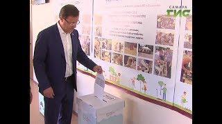 Дмитрий Азаров проголосовал на выборах губернатора Самарской области