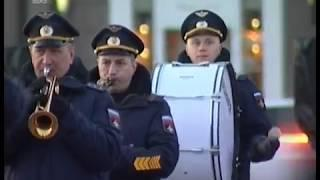 В темноте и холоде. В Челябинске прошла первая репетиция парада Победы