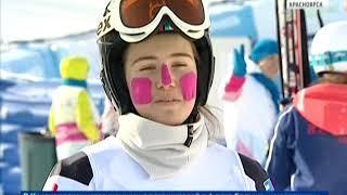В Красноярске продолжаются тестовые соревнования по горнолыжному спорту