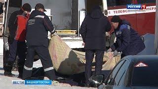 Появилось первое видео с места ЧП в Уфе, где погибли пять строителей