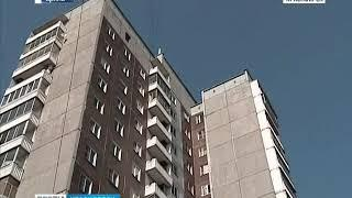 В Красноярске шестилетний ребенок упал с балкона