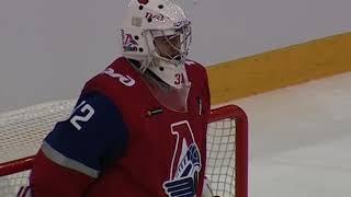 Голкипер «Локомотива» стал лучшим вратарем недели в КХЛ