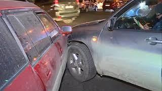 Тёмное время суток сыграло против водителей в очередном ДТП