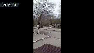 RAW: 5 killed, including gunman in church shooting in Dagestan, Russia