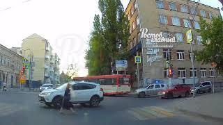 ДТП на Социалистической Кировском 3.5.2018 Ростов-на-Дону Главный