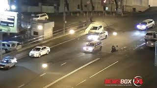 Два и ДТП и сбитый сотрудник полиции – перекресток на Авангарде поставил новый аварийный рекорд