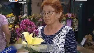 «Большой брат» в цветочной вазе  Самый крупный сорт лилий представят на выставке в отделе природы Ир