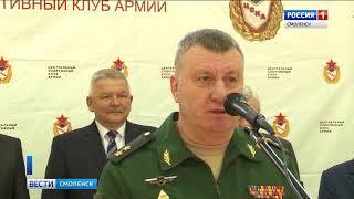 Военные гиревики России посоревнуются в Смоленске