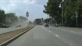 Пьяный водитель, убегая от полиции, попал в аварию
