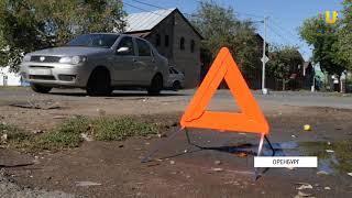 UTV. На перекрестке улиц Попова и Пролетарской в результате ДТП машина выехала на тротуар