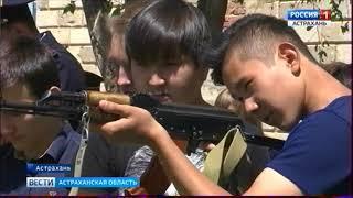 Астраханские школьники посетили Центр кинологической службы