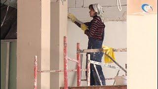 Строительство новой школы в Псковском микрорайоне идет по плану