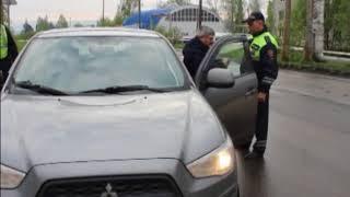 Массовая проверка водителей