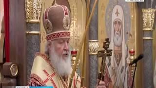 Патриарх Кирилл освятил новый Храм новомучеников и исповедников Церкви Русской в Норильске