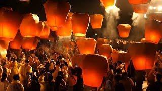 Фестиваль летающих фонарей