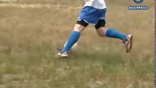 Пензенские полицейские сыграли в футбол с воспитанниками детдома