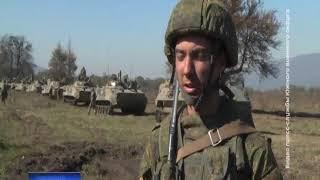 """Бойцы ЮВО провели масштабные учения на полигоне """"Тарское"""""""