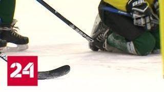 Снаряжение победителей: в России наладили выпуск современных хоккейных клюшек - Россия 24