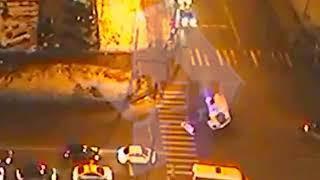 ДТП с перевернувшейся скорой в Москве, Дверь отлетела на несколько метров