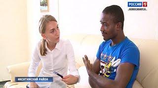 Футбольный фанат из Нигерии поселился в Искитиме после проигрыша сборной