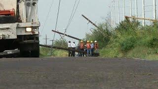 """В Мексике ликвидируют последствия урагана """"Уилла"""""""