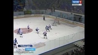 На домашнем льду прошла встреча хоккейного клуба «Чебоксары» с коллегами из «Мордовии»