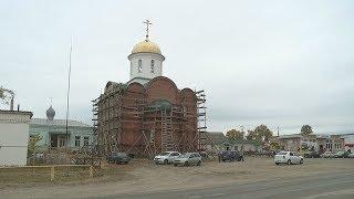 Од пинге. Строительство храма Живоначальной Троицы в Больших Березниках