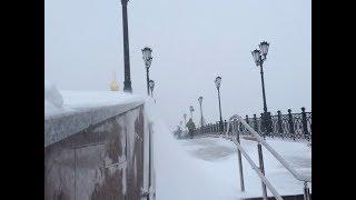 Хроника событий: как в Йошкар-Оле ликвидируют последствия снегопада