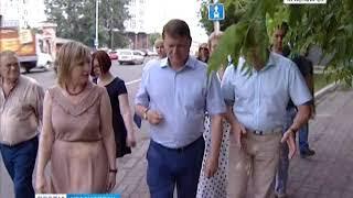 Глава Красноярска побывал с инспекцией на проспекте Мира