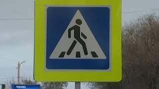 """Из-за """"неправильных"""" переходов на дорогах Морозовска пешеходы получают травмы"""