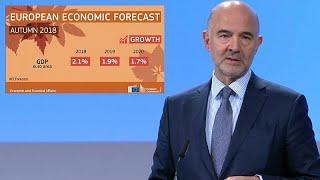Замедление роста ВВП еврозоны