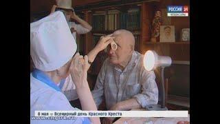 Накануне 9 Мая врачи подкрепили здоровье ветеранов