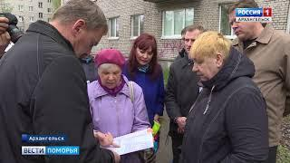 Игорь Годзиш провел рабочую поездку в Соломбальском округе